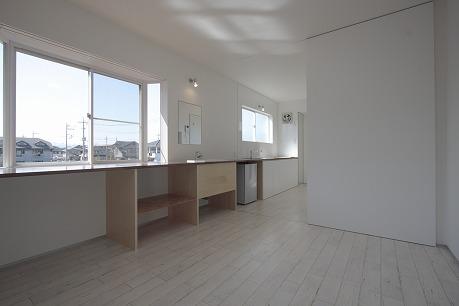 白を基調とした統一感のある空間へ。。