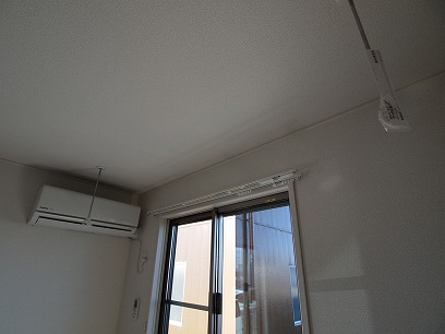 室内物干しが付いてるので、とっても便利なんです( ^)o(^ )