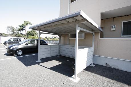 屋根付き駐輪場~