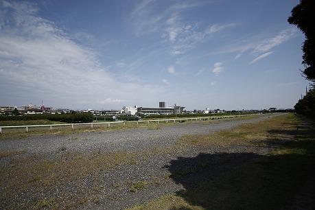 開発予定の競馬場跡地