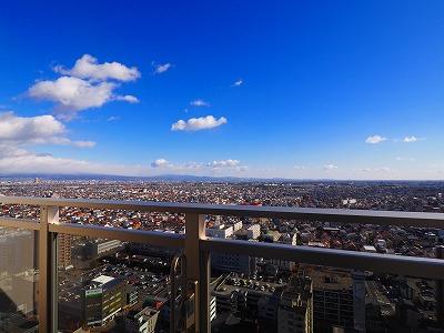 24階からの眺めは最高です!!