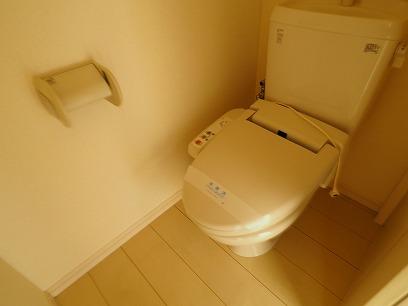 温水洗浄暖房便座のトイレ
