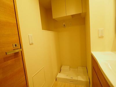 室内洗濯機お聞き場 洗濯パン高さ有り