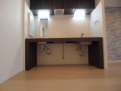 キッチン下のスペース