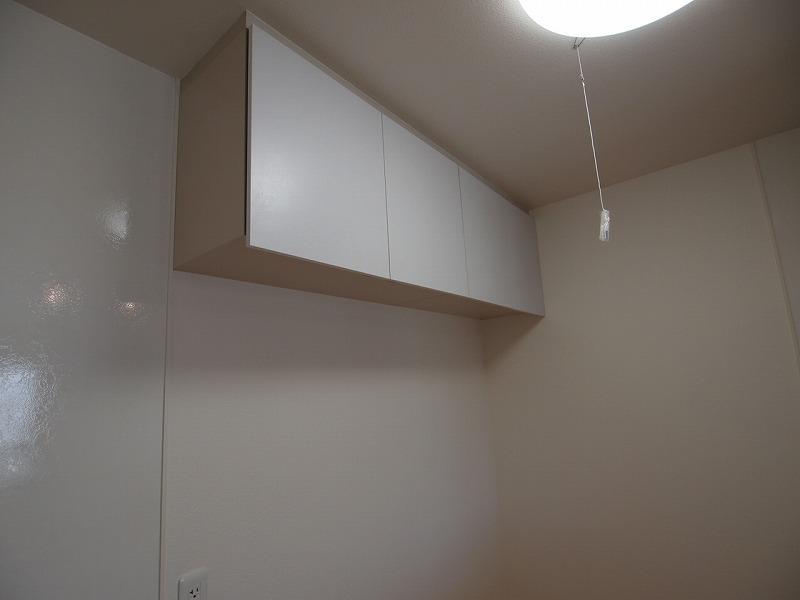 キッチンの戸棚も備え付け♪