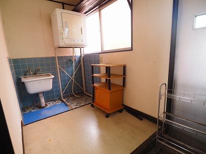 洗濯用のお部屋