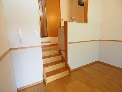 階段もあって♪