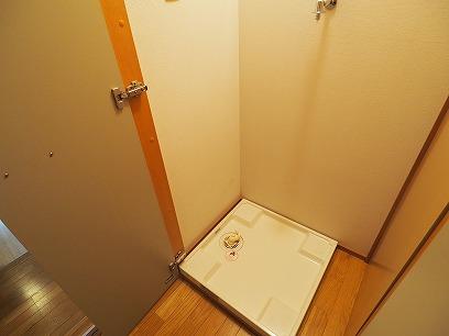 室内洗濯機置場 扉付