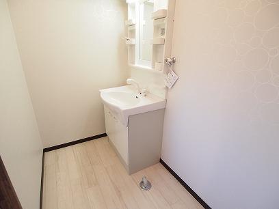 洗面台&室内洗濯機置き場
