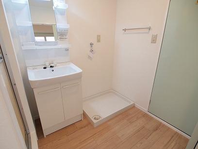 洗面所 洗濯機置き場
