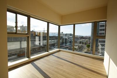 3階角部屋からの眺望
