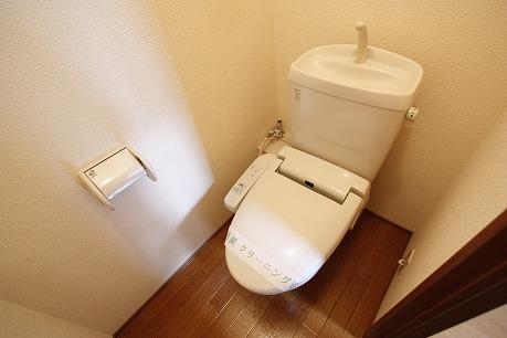 機能充実のトイレ