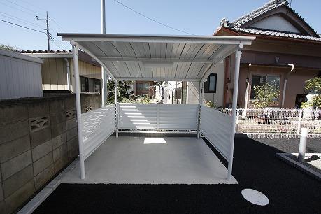 屋根付駐輪場もあります♪