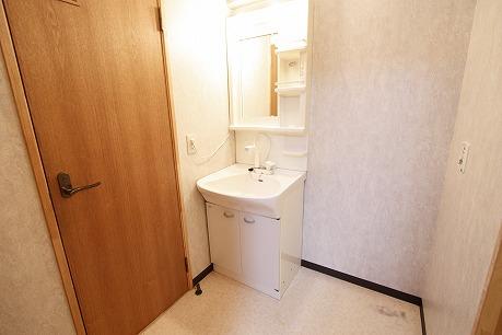 明るい洗面所&シャンプードレッサータイプ