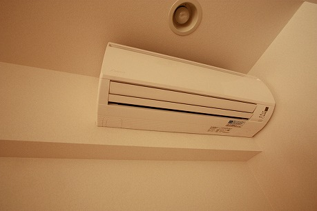 エアコンももちろん美品です。