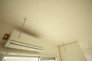 エアコン&室内物干付