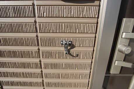 玄関横にフックあります♪