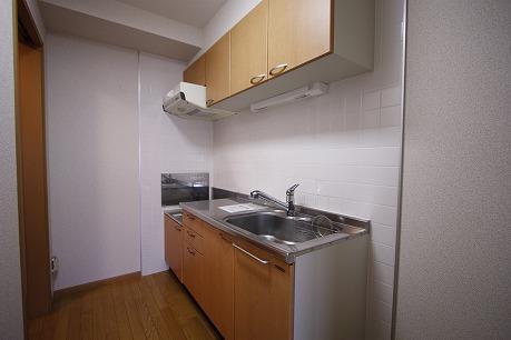 キッチンは独立型です♪ プロパンガス~