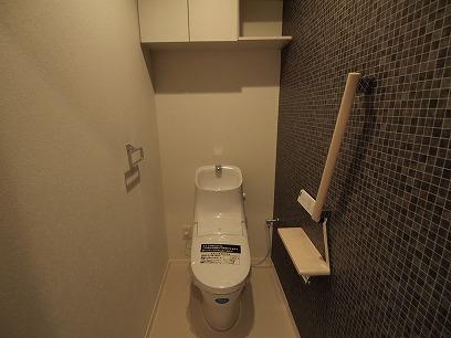 トイレもオシャレです。
