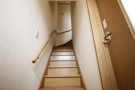 2階へ・・